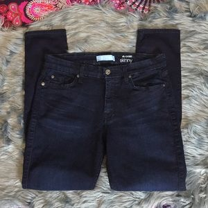 7FAM 7 for all mankind The Ankle Skinny Jeans 31